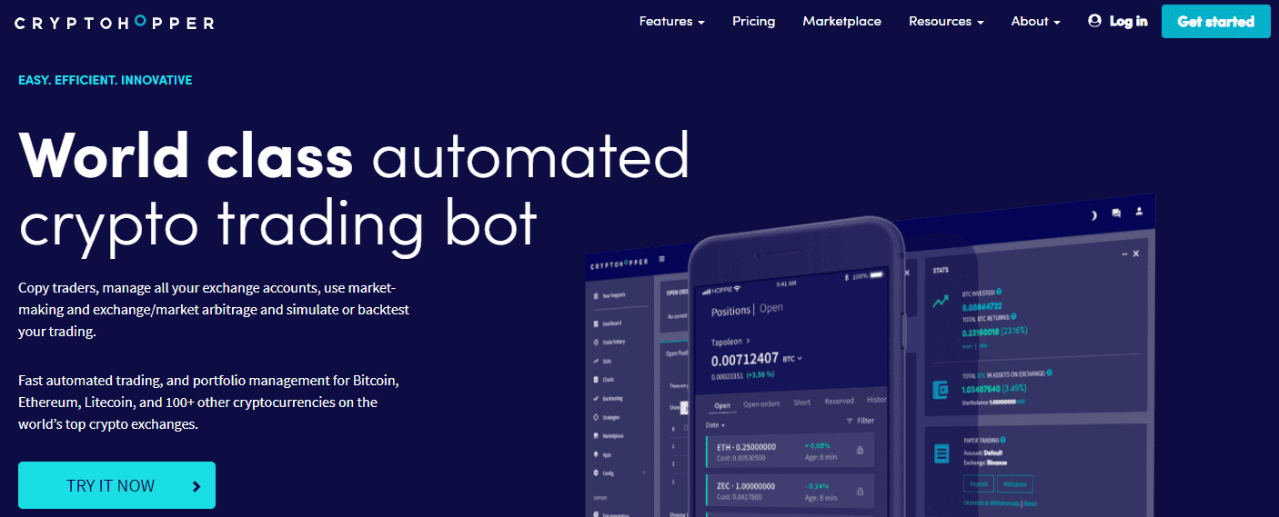 cryptohopper robot investor